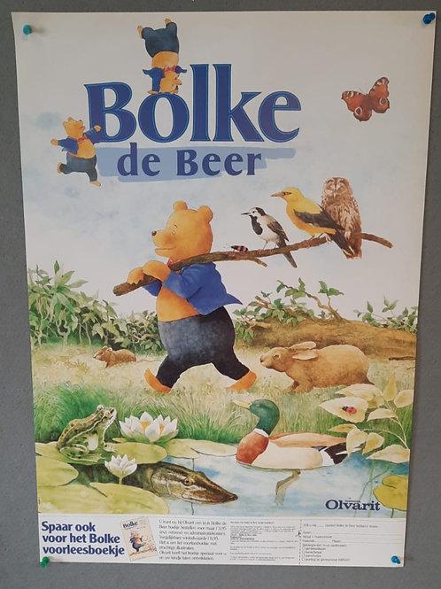 Reclameposter Bolke de Beer Olvarit Nutricia