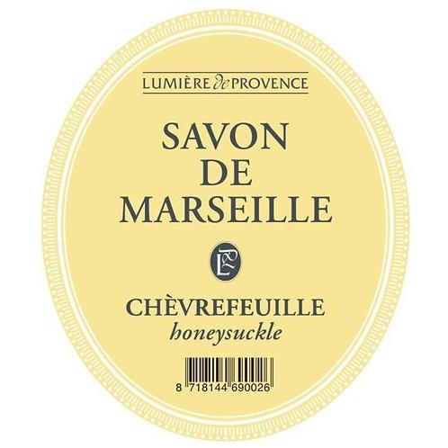 Marseille zeep Kamperfoelie Chevrefeuille