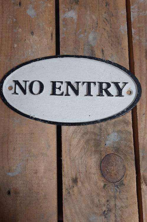 No Entry   CS-14