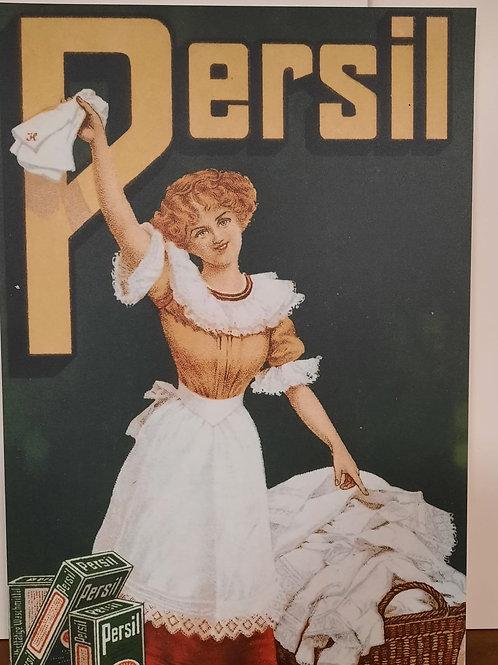 replica reclamebord Persil