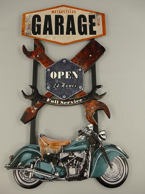 Garage open. 24 hours  321.Y24