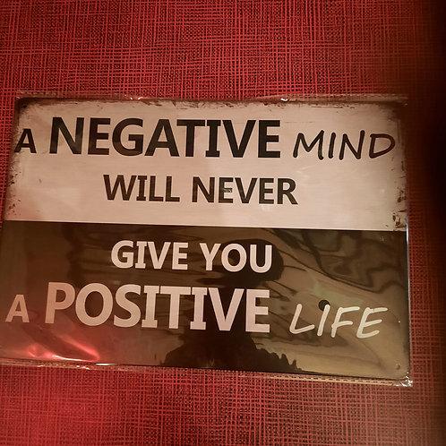 A negative mind  T0161