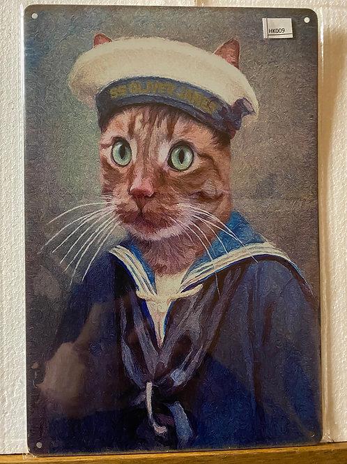Navy Cat HK009