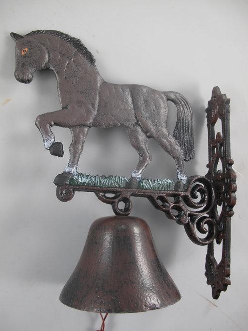 gietijzeren bel met paard  102.518