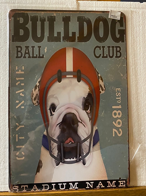 Bulldog ball play HK011
