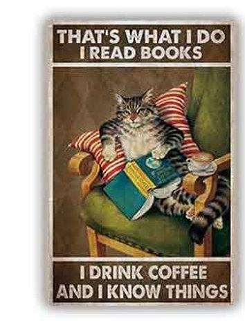 That's what I do I read books THC136 Cat