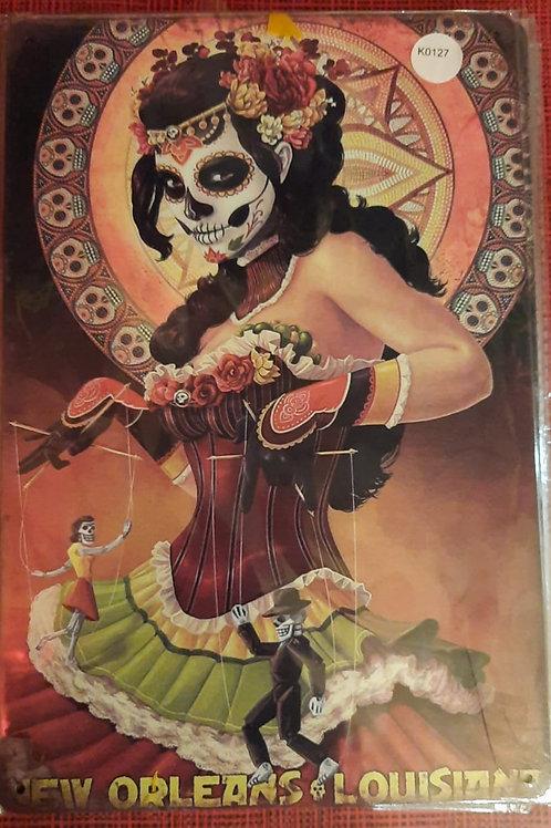 Dames skull  K0127