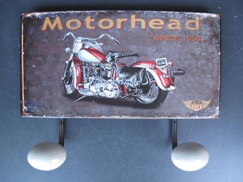kapstok haak Motorhead since 1939  321.J22