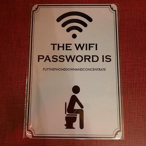 The Wifi Password   K0157