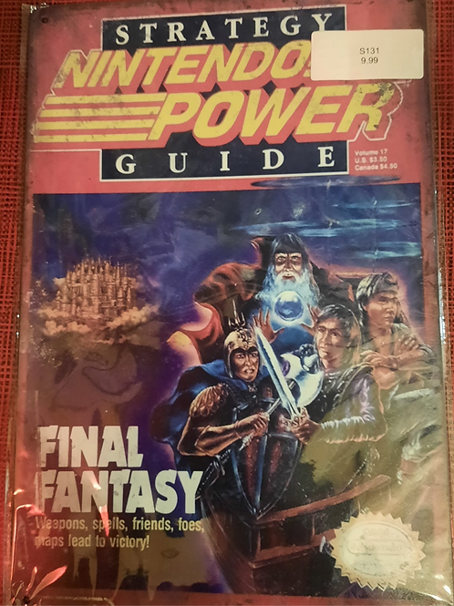 Nintendo Power Final Fantasy S131