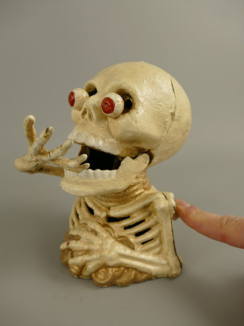 Spaarpot gietijzer Skelet  102.041