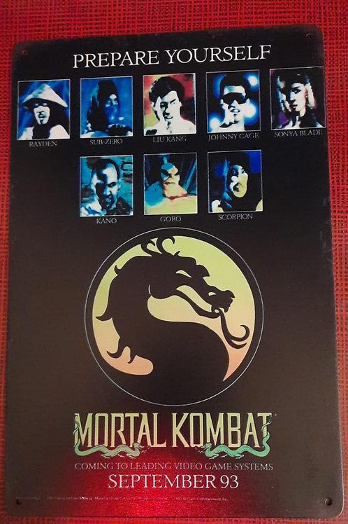Nintendo Mortal Kombat 1993  S0138