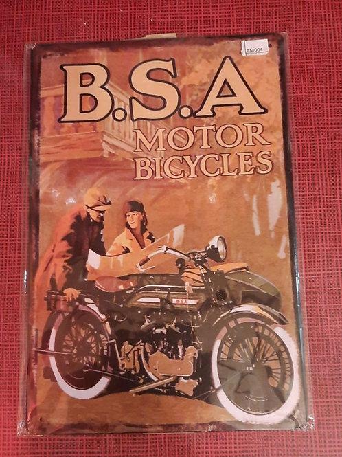 BSA Motor Bicycles   AM004