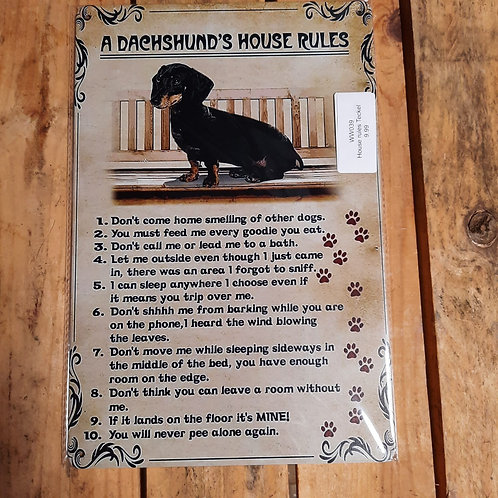 Teckel House Rules WW039