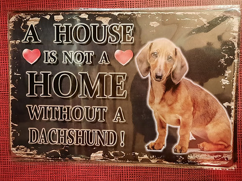 A House without a Dachshund HK0126