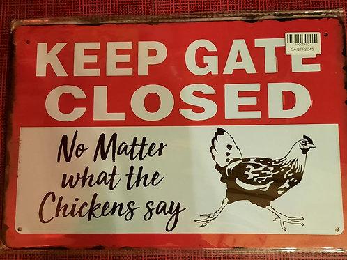 Keep the gate closed HK426