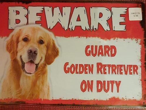 Beware Retriever on duty  HK0178