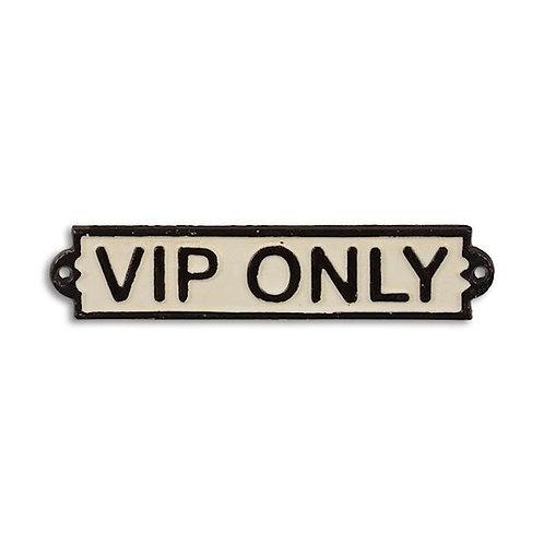 VIP  Only  Deurplaat  CS-34