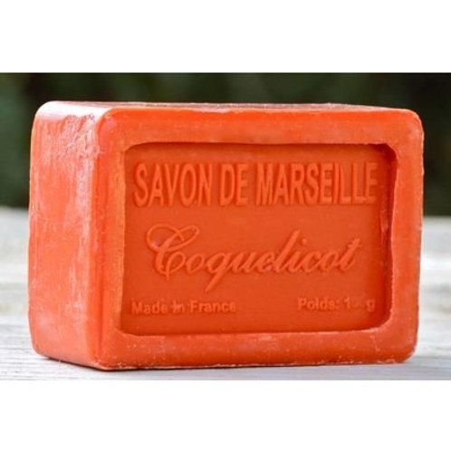 Marseille zeep Klaproos