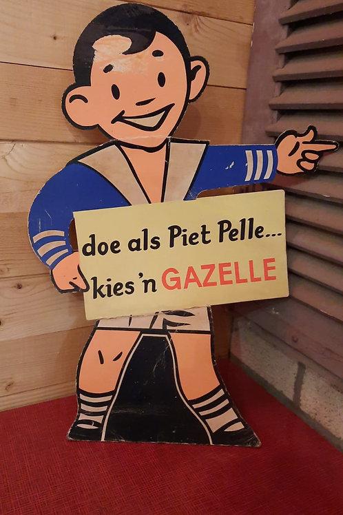 reclamedisplay Pietje Pelle Kies 'n Gazelle