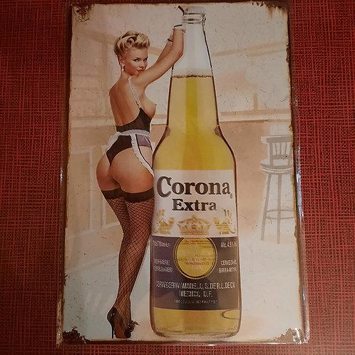 Corona Extra Pinup  HK0420