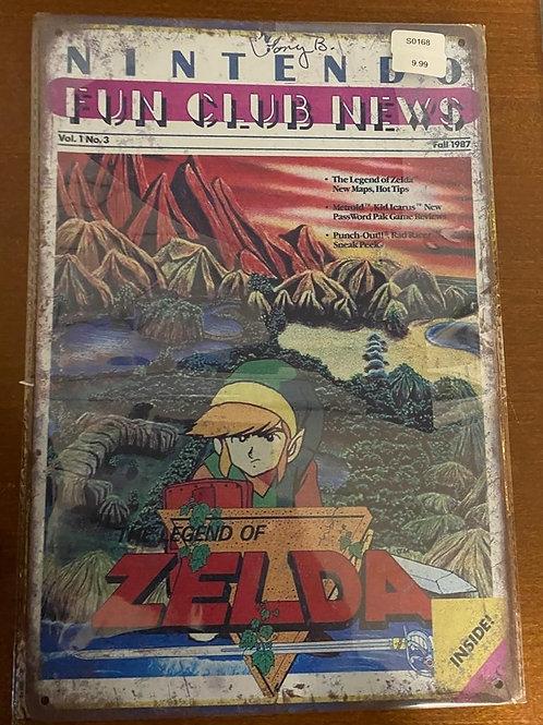 Legend of Zelda Nintendo S0168