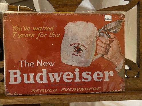 the new Budweiser A0024