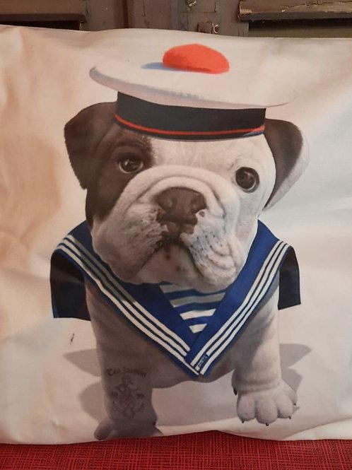 Kussensloop Bulldog matroos HK0120