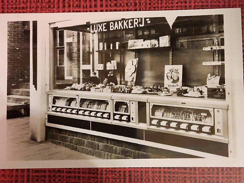 Originele reclamefoto De Limeta Etalage verkoopautomaat