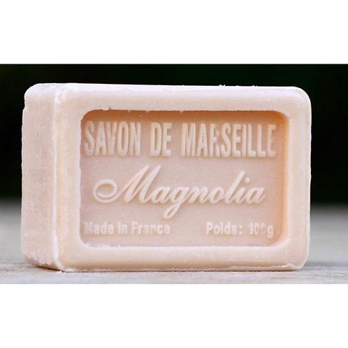Marseillezeep in de geur magnolia