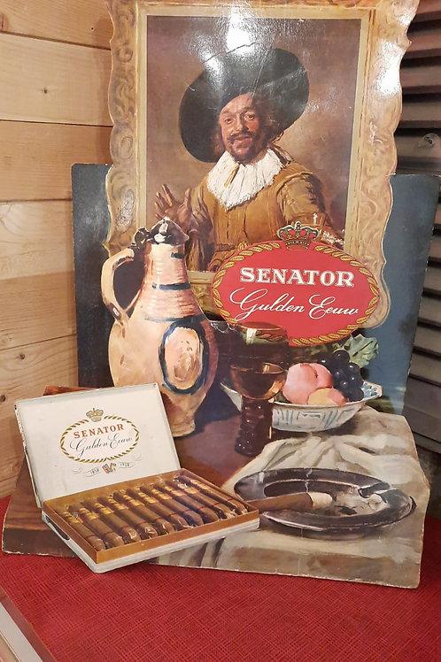 Mooie oude 3D reclame Senator