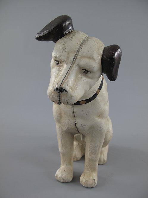 Gietijzeren hond van His Masters Voice