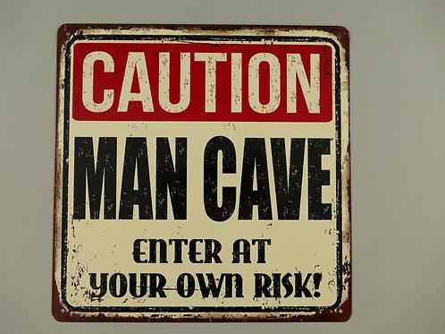 Caution Man Cave  321.C35