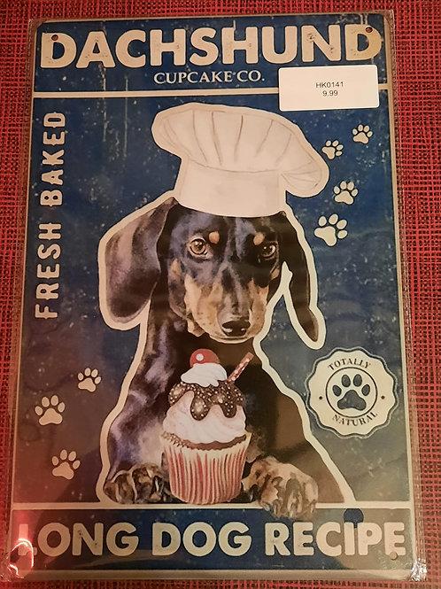 Dachshund Cupcake Co  HK0141