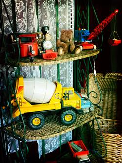 Vintage oud speelgoed auto