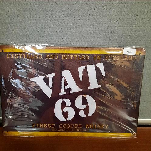 Vat 69 Whisky  A0159