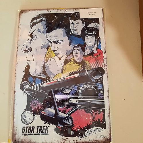 Tekstplaat Startrek F0165
