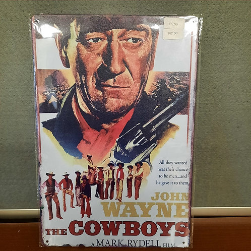 John Wayne in cowboys F0143
