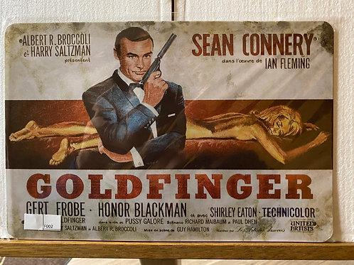 James Bond Goldfinger F002