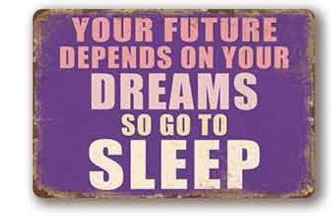 Your future depends on your dreams  TH8833
