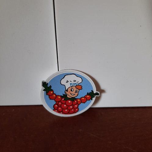 flipje sticker doorsnee 4 cm