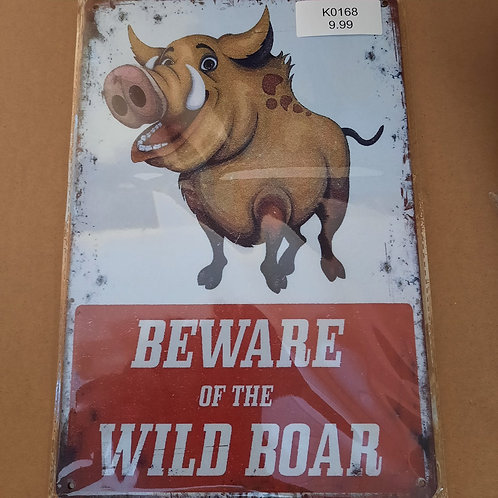 Beware of the Wild Boar  K0168 Pumba