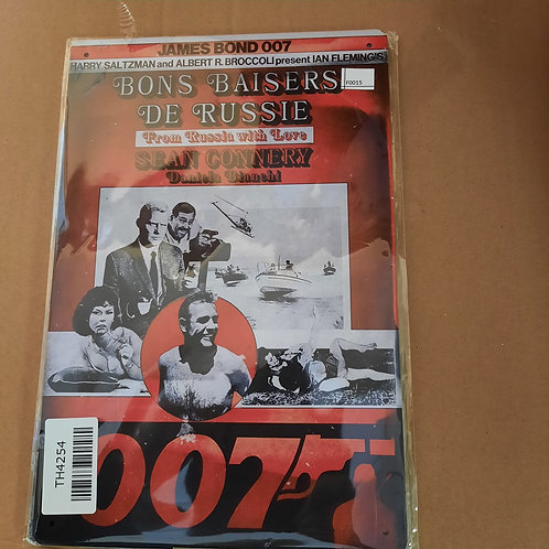James Bond F0015 From Russia with Love
