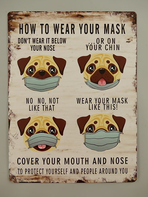 How to wear your mask  333.080