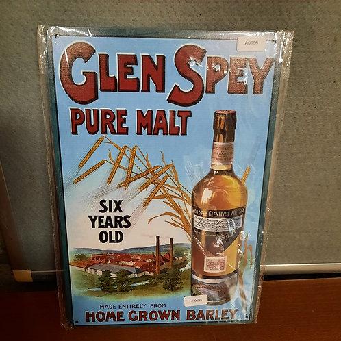 Glen Spey Pure Malt Whisky A0156