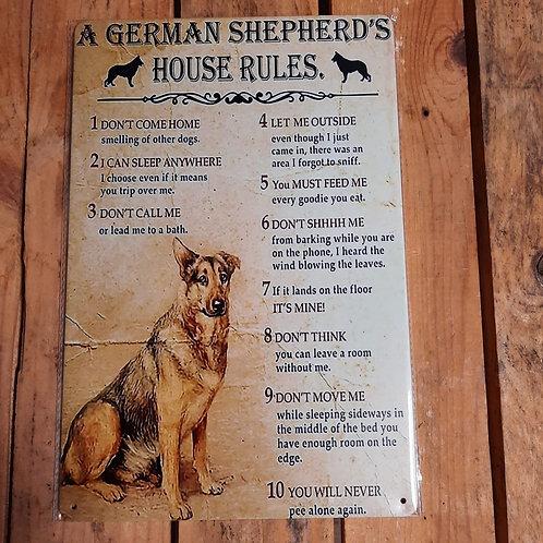 Duitse Herder House Rules WW033