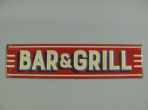 Bar & Grill  321.Y13