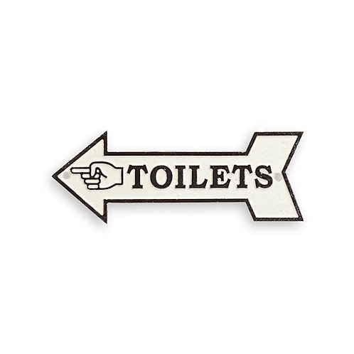 Toilets pijl gietijzer  CS-77