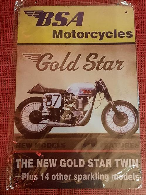 BSA Motorcycle  S216