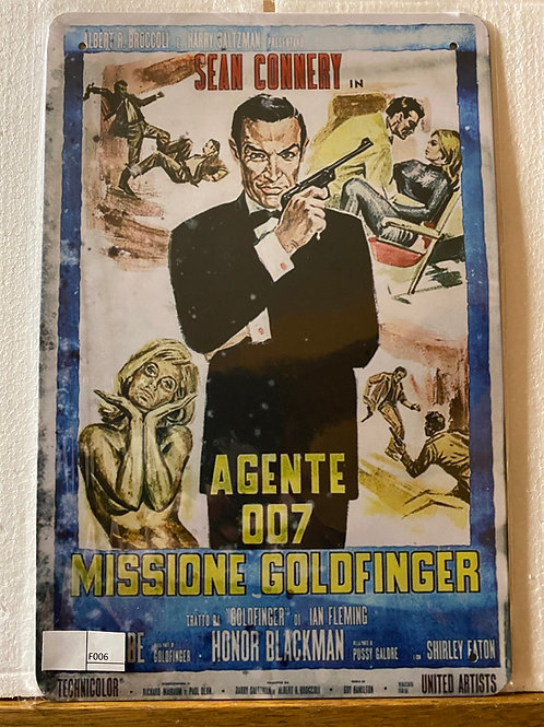 James Bond Goldfinger F005